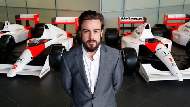 Fernando Alonso returns to McLaren after five years with Ferrari.