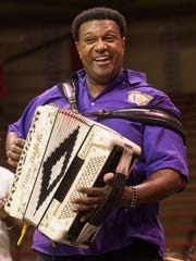 """David Simpson With a new CD called """"Zydeco Stuff,"""" Grammy winner Chubby Carrier says boudin stops are the best places to buy local music CDs. With a new CD called """"Zydeco Stuff,"""" Grammy winner Chubby Carrier says boudin stops are the best places to buy local music CDs."""