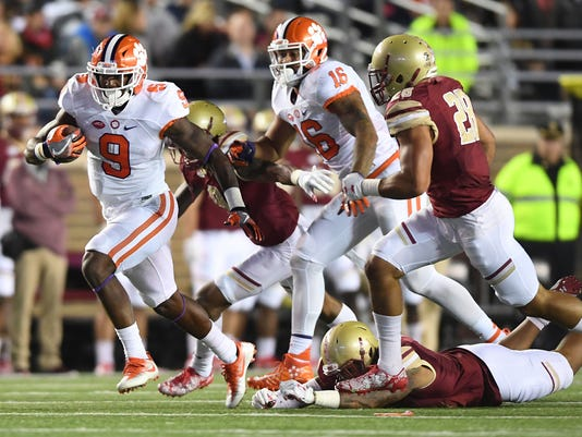 Clemson Boston College Football