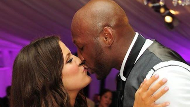 Khloe Kardashian and ex-husband Lamar Odom