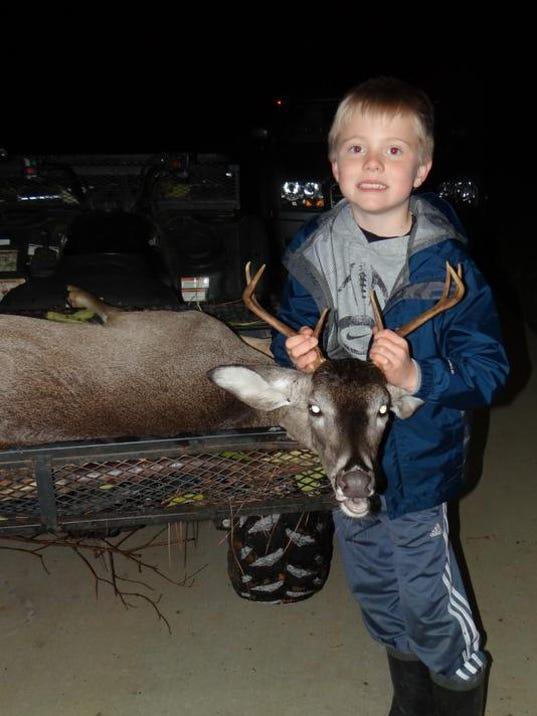 Tucker Gamble deer