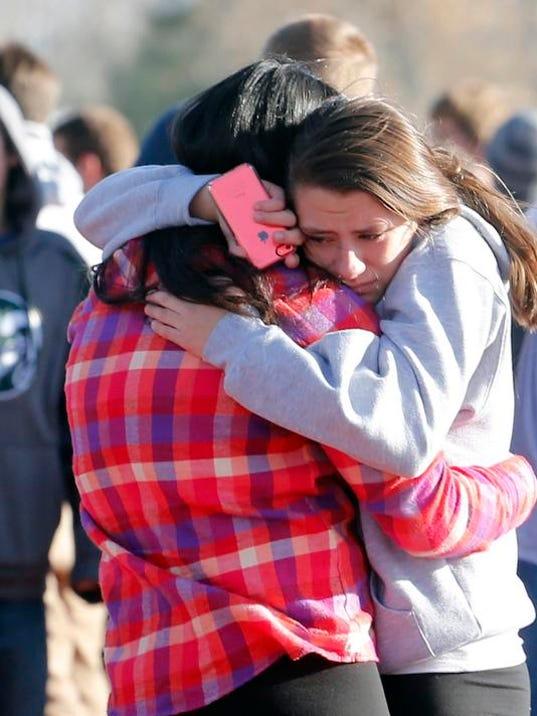 School Shootings Arapahoe Colo.