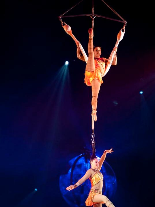 Asheville Citizen Times >> Review: New Ringling circus has classic thrills, surprises
