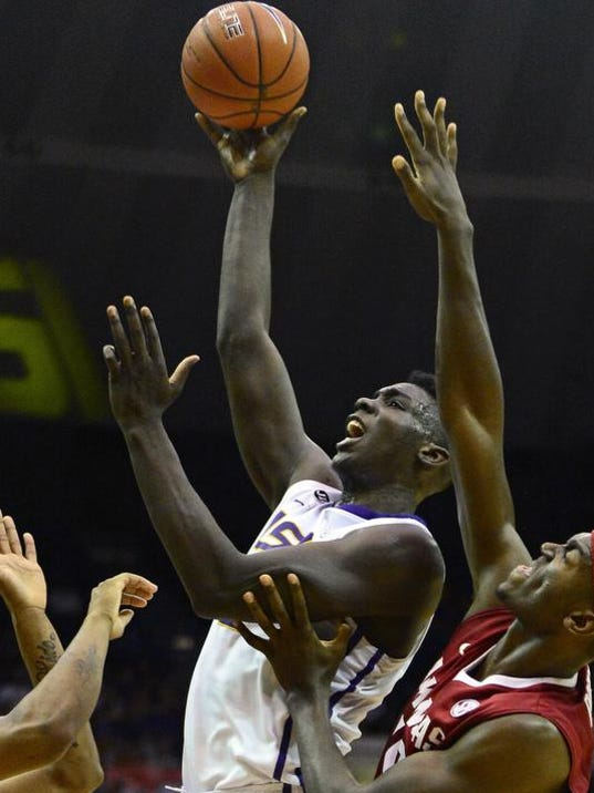 Arkansas LSU Basketball