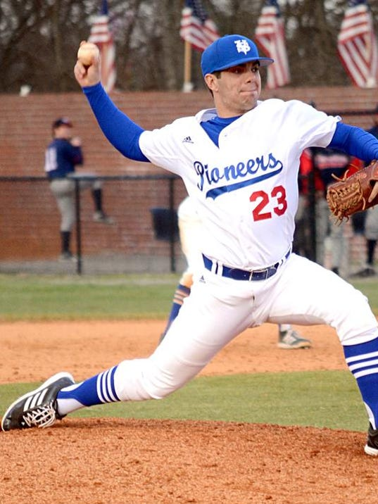 1-31 VSCC Baseball Action-Soph P Evan Jones.JPG
