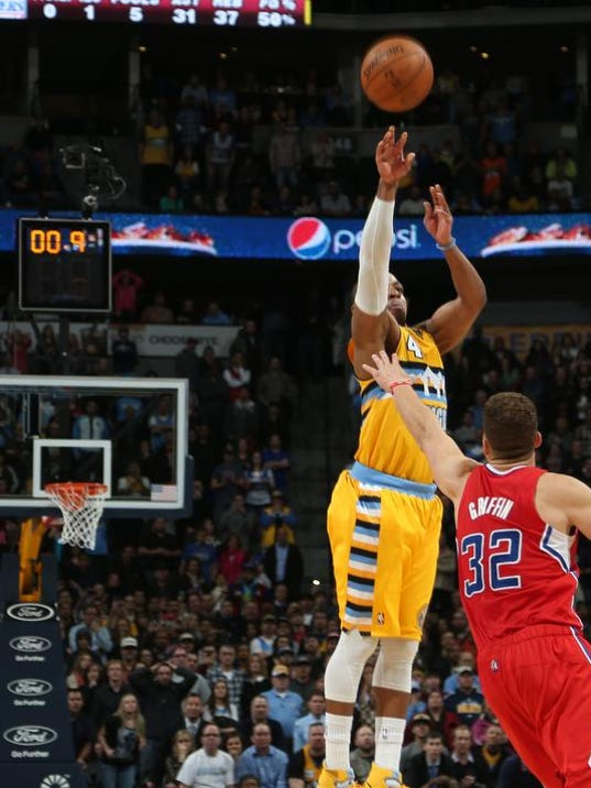 APTOPIX Clippers Nuggets Basketball