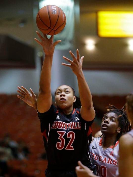 Louisville Houston Basketball