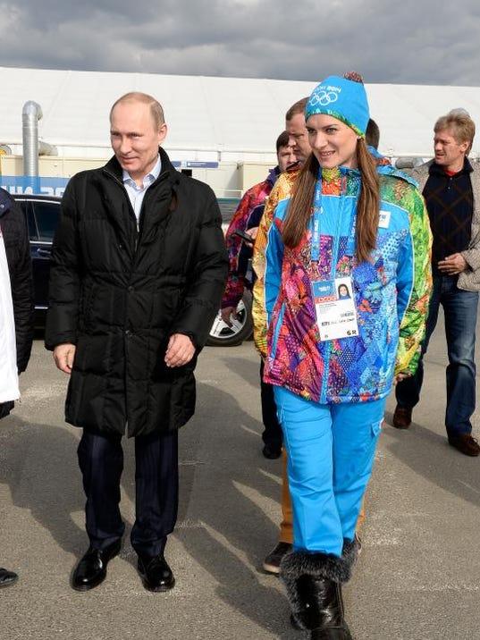 Sochi Olympics Putin