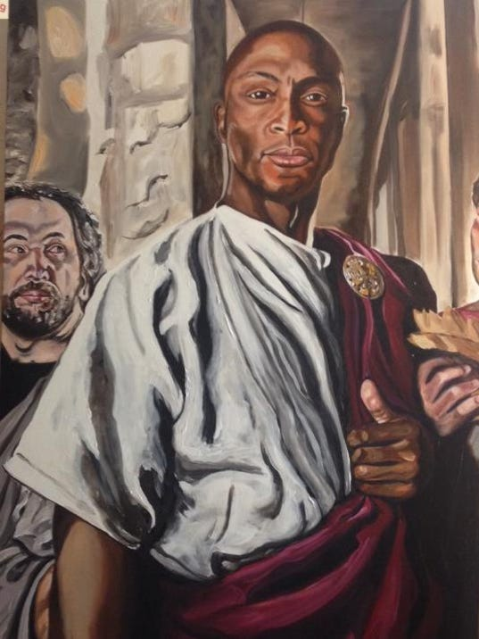 Eddie George as Caesar.jpg