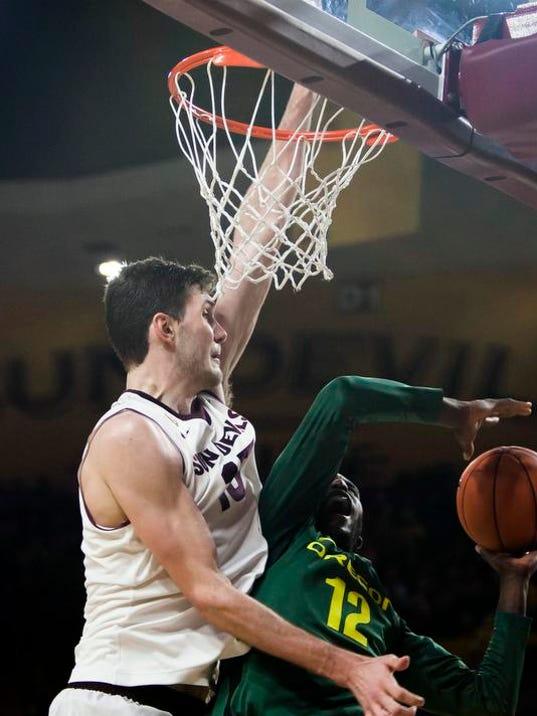 Oregon Arizona St Basketball