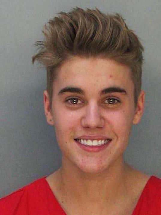 APTOPIX Justin Bieber Arrest