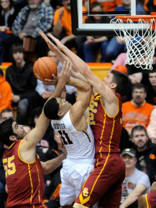 USC Oregon State Basketball