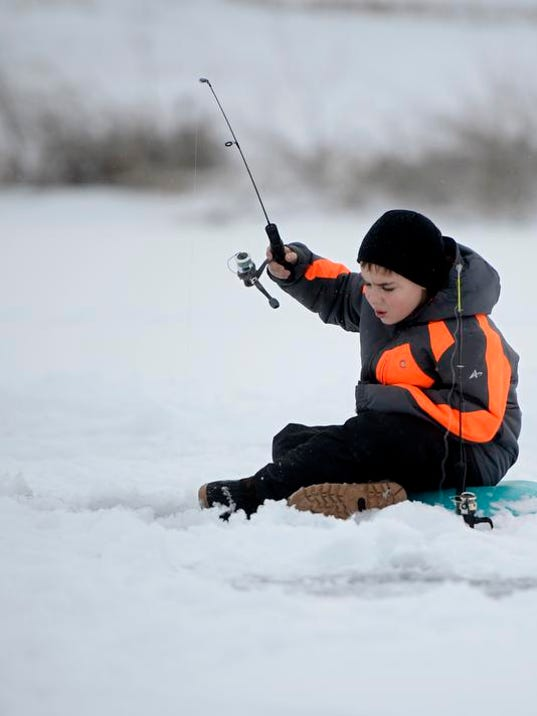 Hooked on ice fishing: Demo day provides introduction to