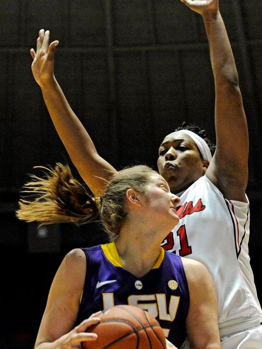 LSU Mississippi Basketball