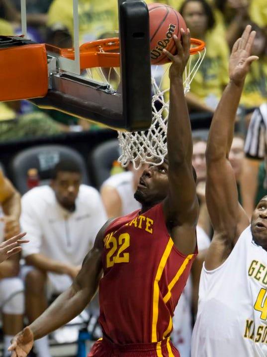 Iowa St George Mason Basketball