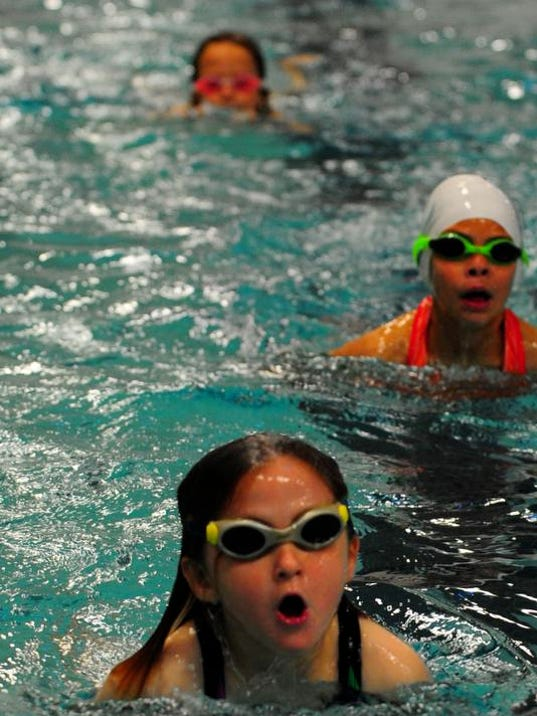 Swimming Pools Help : Theis city s swimming pools help residents take the