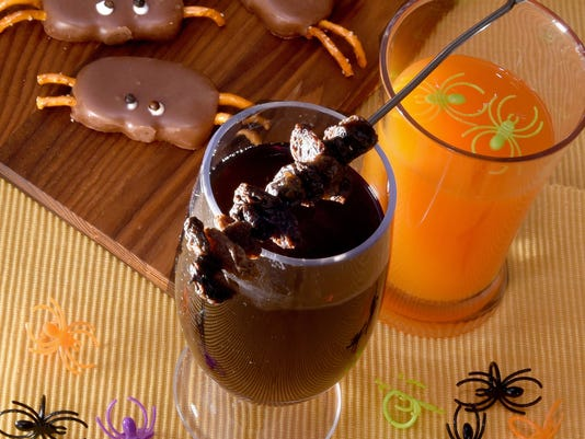 Halloween cocktails, snacks for a night of fright