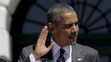 President Obama in Washington on April 14, 2016.