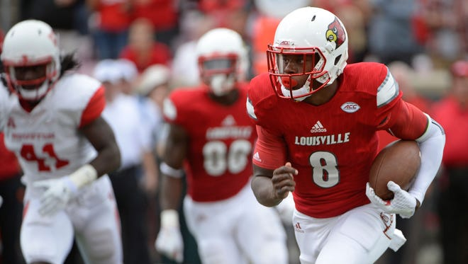 Florida State will need to be wart of UofL's star QB Lamar Jackson.