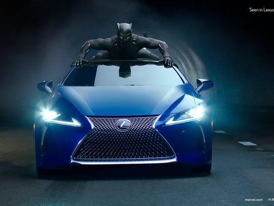 "Lexus is planning a ""Black Panther"" Super Bowl spot."