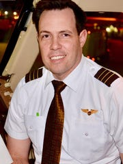 Brian Evers, Westfield, is a pilot for UPS. He delivers