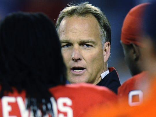 Georgia coach Mark Richt won 145 games in 15 season