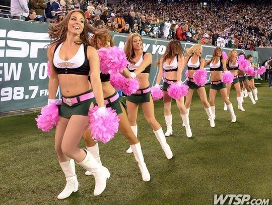 Cheerleaders in Pink 003