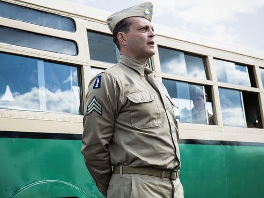 Vince Vaughn plays a drill sergeant in 'Hacksaw Ridge.'