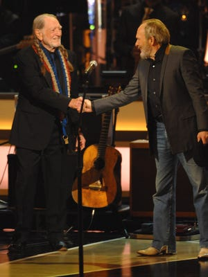 Legendary country outlaws Willie Nelson and Merle Haggard will co-headline on Oct. 25 at the Resch Center Theatre in Ashwaubenon.