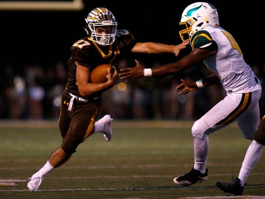 The Kickapoo Chiefs took on the Parkview Vikings during
