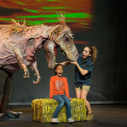 Prehistoric creatures come to life in 'Dinosaur Zoo'