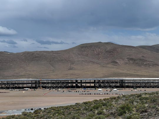 Tesla Motors' gigafactory is considered the crown jewel of developments at the Tahoe-Reno Industrial Center. The company is installing a water recirculating system as part of its construction.