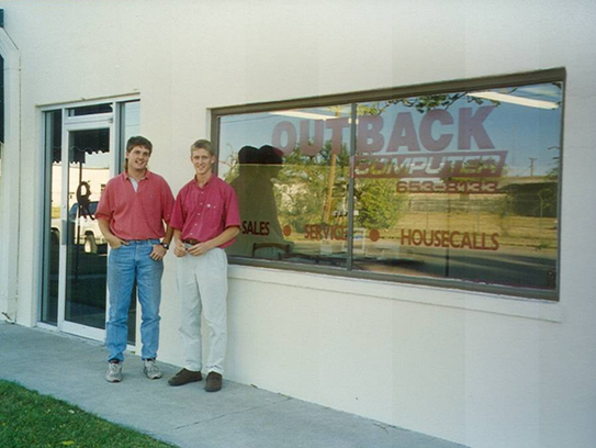 After graduating from ASU, Will Welch and Brent McCasland