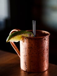 The Moscow mule at Gilroy's in West Des Moines.