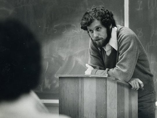 In 1977, then-state Rep. Sherrod Brown did a 13-week stint as a political science instructor at OSU-Mansfield.