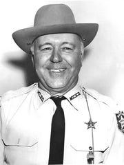 Sheriff Roy Baker in 1964