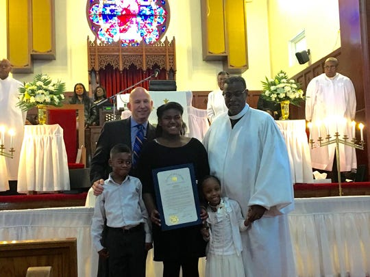 Gov. Jack Markell spoke to the congregation of Bethel AME Church in Wilmington, formally apologizing for slavery and its effects.