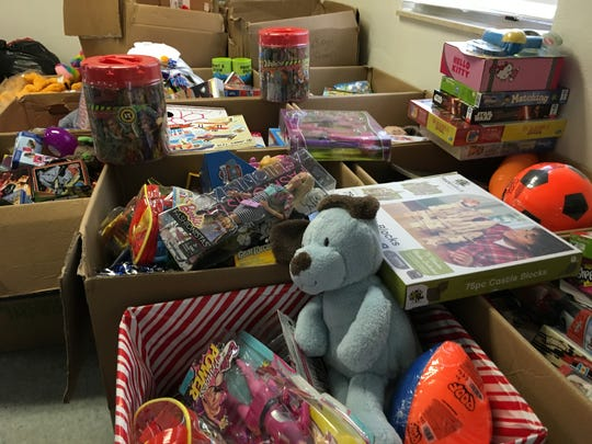 Community organizations came together to provide hundreds