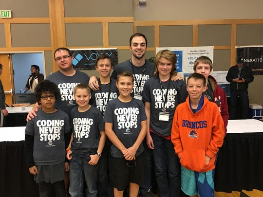 Southern Utah students learn about coding through the