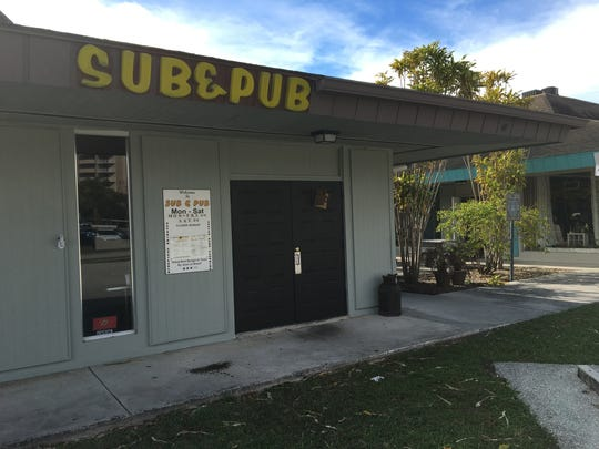 Sub & Pub, serving downtown Fort Myers since 1975,
