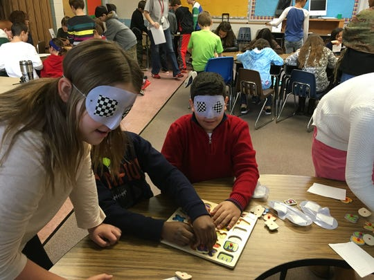 Fourth Grade Bayberry students were provided with the unique opportunity to learn about the disabled population through the SEEDS (Student Education & Experience for Disability Sensitivity) Program.