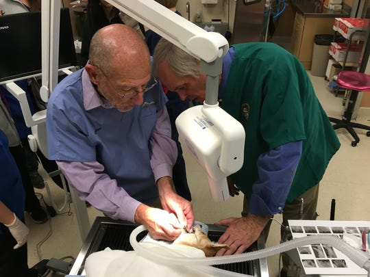 Nevada Humane Society veterinarians received an in-depth course on animal dentistry.