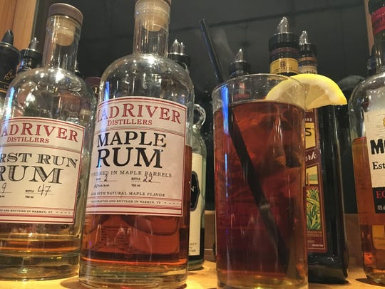 """A """"local"""" hot toddy at the Mad River Barn in Waitsfield."""