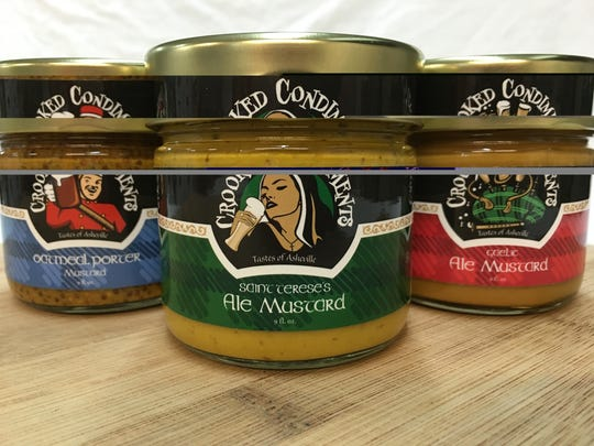 Crooked Condiments has a line of mustards made with