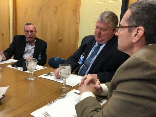 School Board visits RHS
