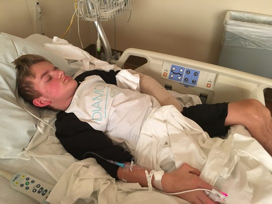 Tristin Hurley's wheelchair was stolen earlier this