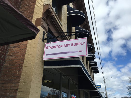 Staunton Art Supply on Central Avenue in Staunton is up for sale.