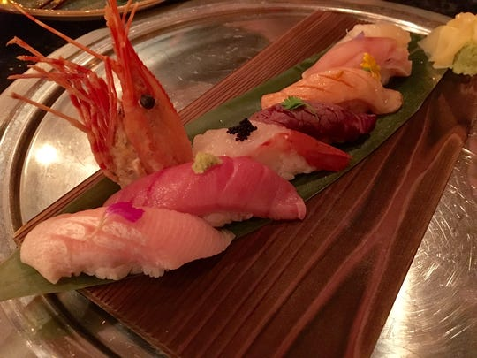 Naples has become an international destination known for quiet beaches, great shopping, elegant accommodations and outstanding food. This sushi omakase is from Zen Asian BBQ in Naples.