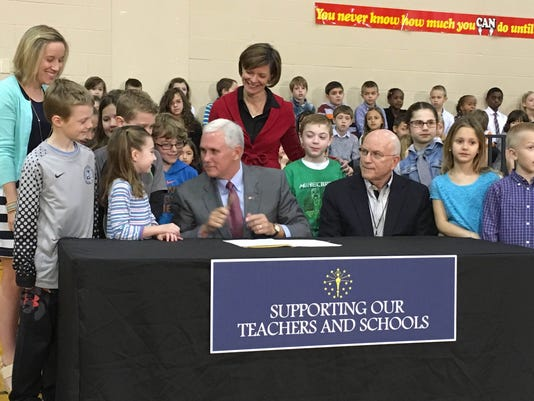 MNI Pence ends ISTEP