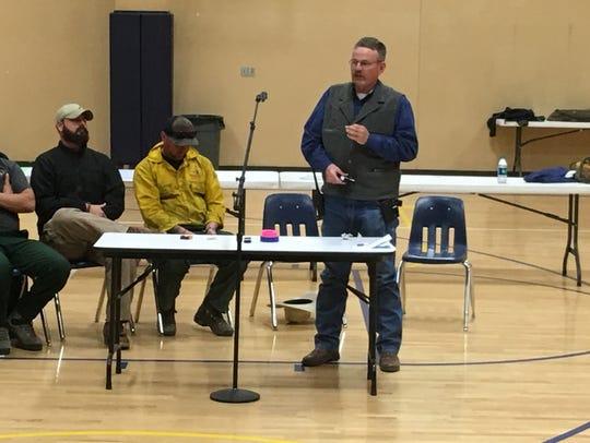 Sheriff Robert Shepperd issues a public plea for information